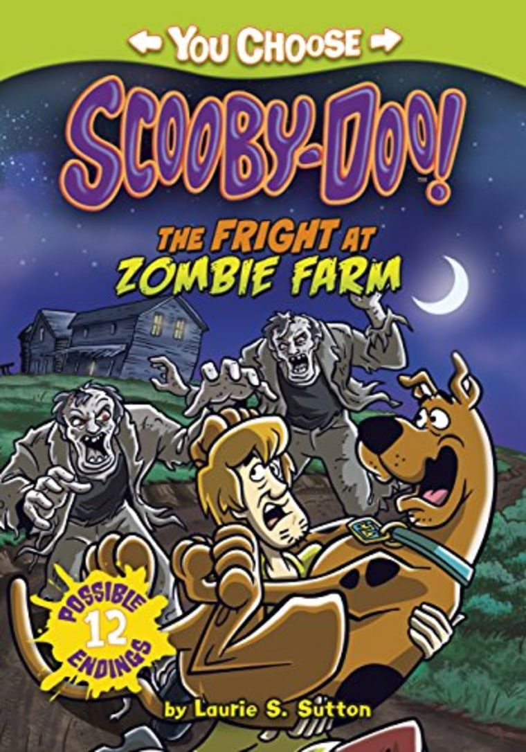 """""""The Fright at Zombie Farm (You Choose Stories: Scooby-Doo)"""" by Laurie S. Sutton"""