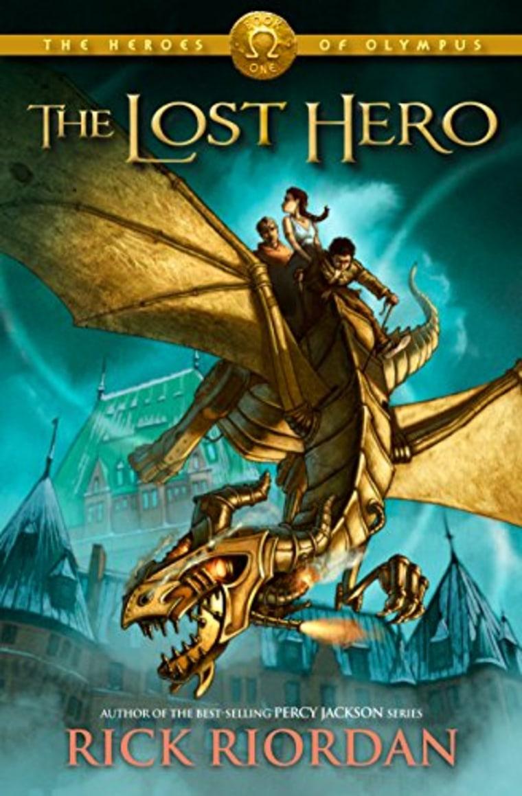 """The Lost Hero (The Heroes of Olympus, Book 1)"" by Rick Riordan"
