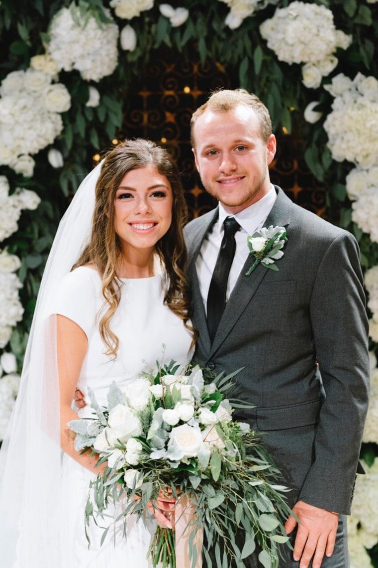 Jodiah and Lauren married wedding