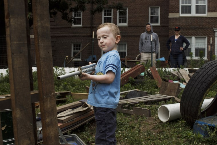 Image: adventure playground governors island
