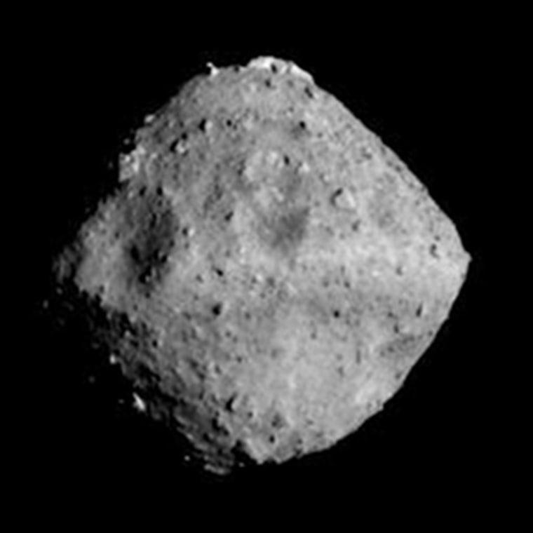 Ryugu asteroid