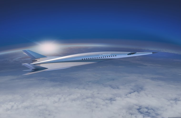 Boeing's first passenger-carrying hypersonic vehicle concept