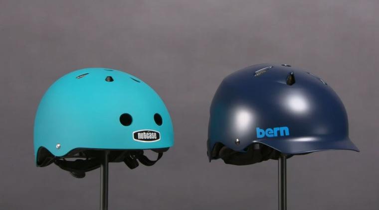 """Urban"" style bike helmets."