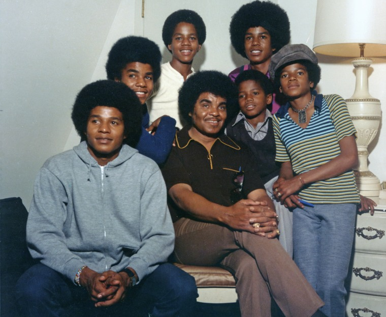 Jackson 5 With Randy And Dad