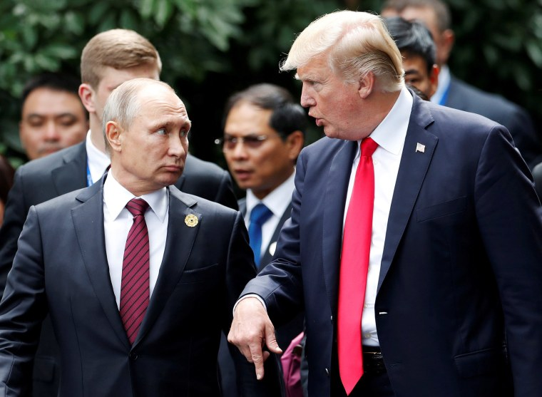 Image: Putin and Trump