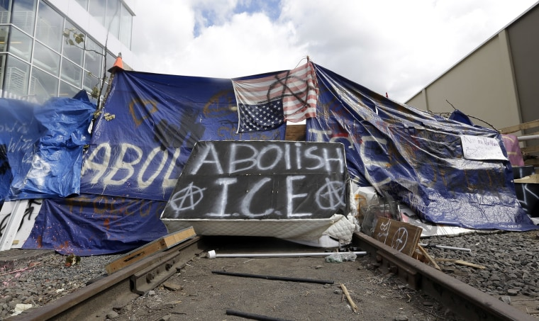 Image: ICE protest