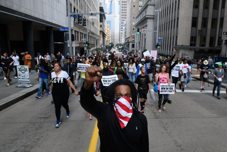 Image: Antwon Rose protests