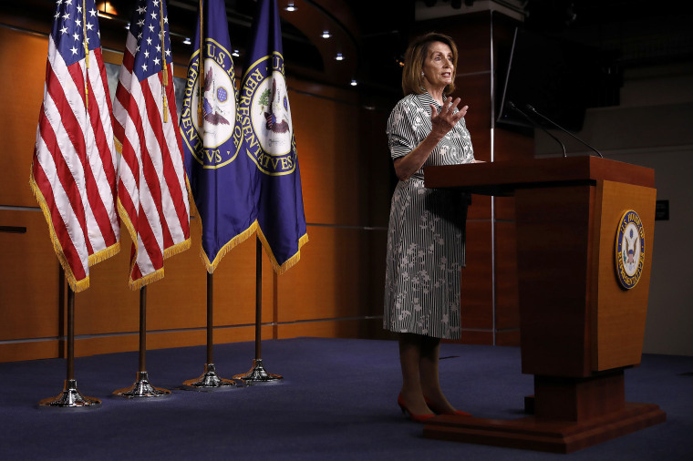 Image: Nancy Pelosi Holds Her Weekly Press Conference At The U.S. Capitol