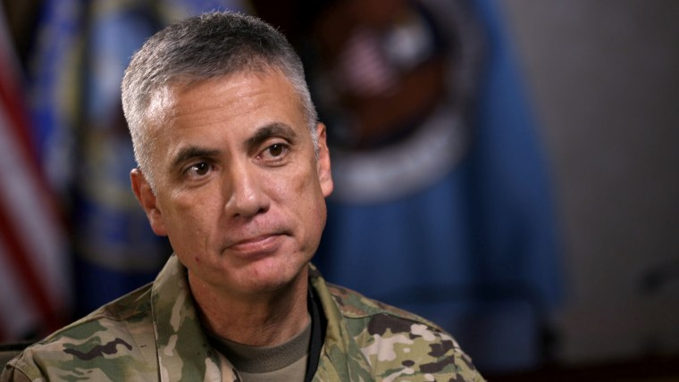Image: Lt. General Paul Nakasone, the new leader of U.S. Cyber Command and the NSA.