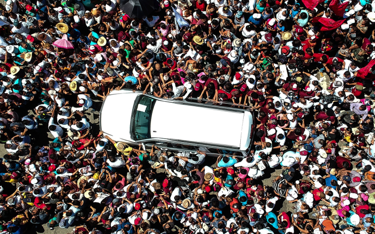 Image: Campaign event of the Mexican presidential candidate Andr?s Manuel L?pez Obrador in Guerrero
