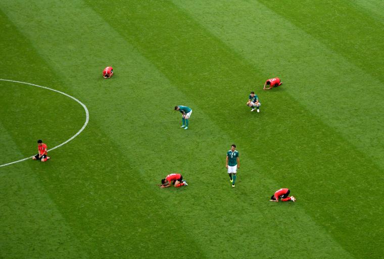 Image: Korea Republic v Germany: Group F - 2018 FIFA World Cup Russia