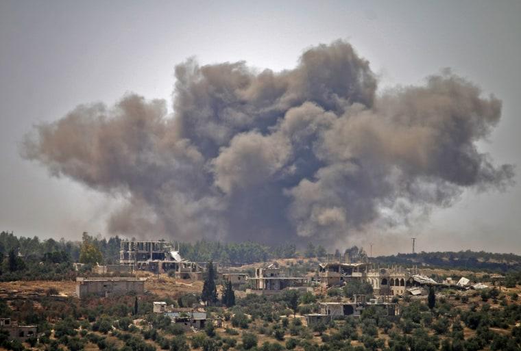 Image: BESTPIX - TOPSHOT-SYRIA-CONFLICT