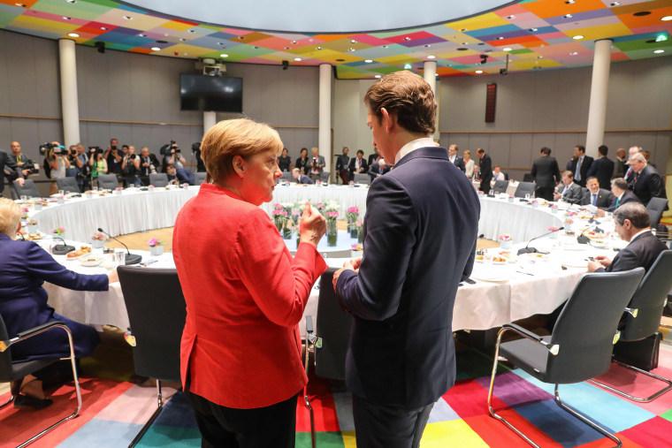 Image: BELGIUM-EU-SUMMIT-POLITICS