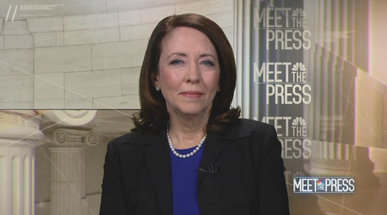 Image: Maria Cantwell Meet the Press