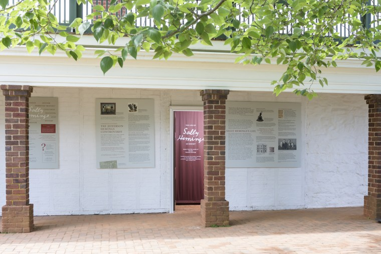 Image: The new Sally Hemings Exhibit at Monticello