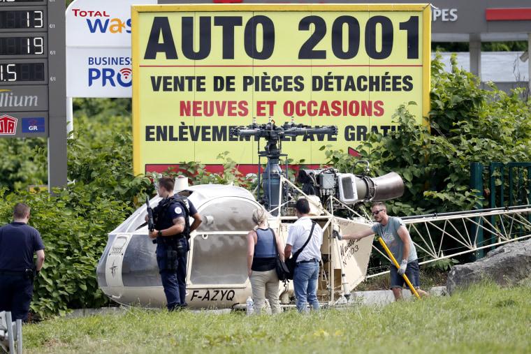Image: France prison escape
