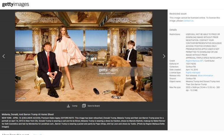 Image: Trump family photoshoot