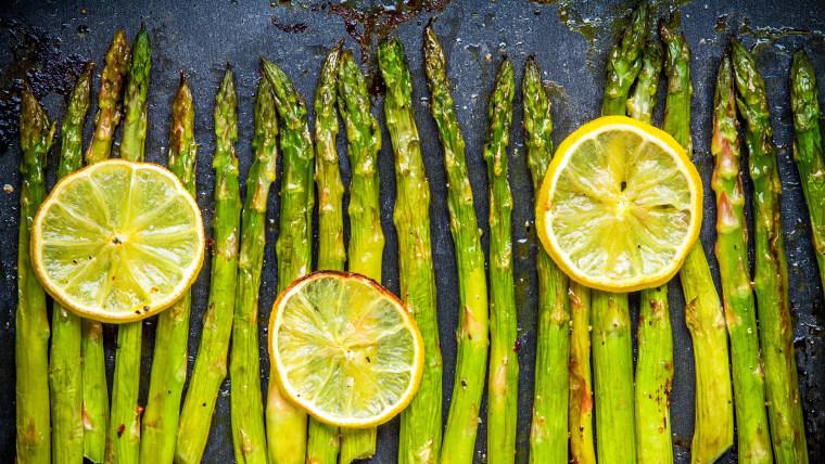 How to cook asparagus: roasted asparagus