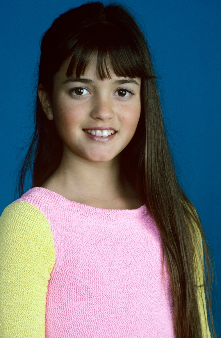 "Danica McKellar in ""The Wonder Years"""