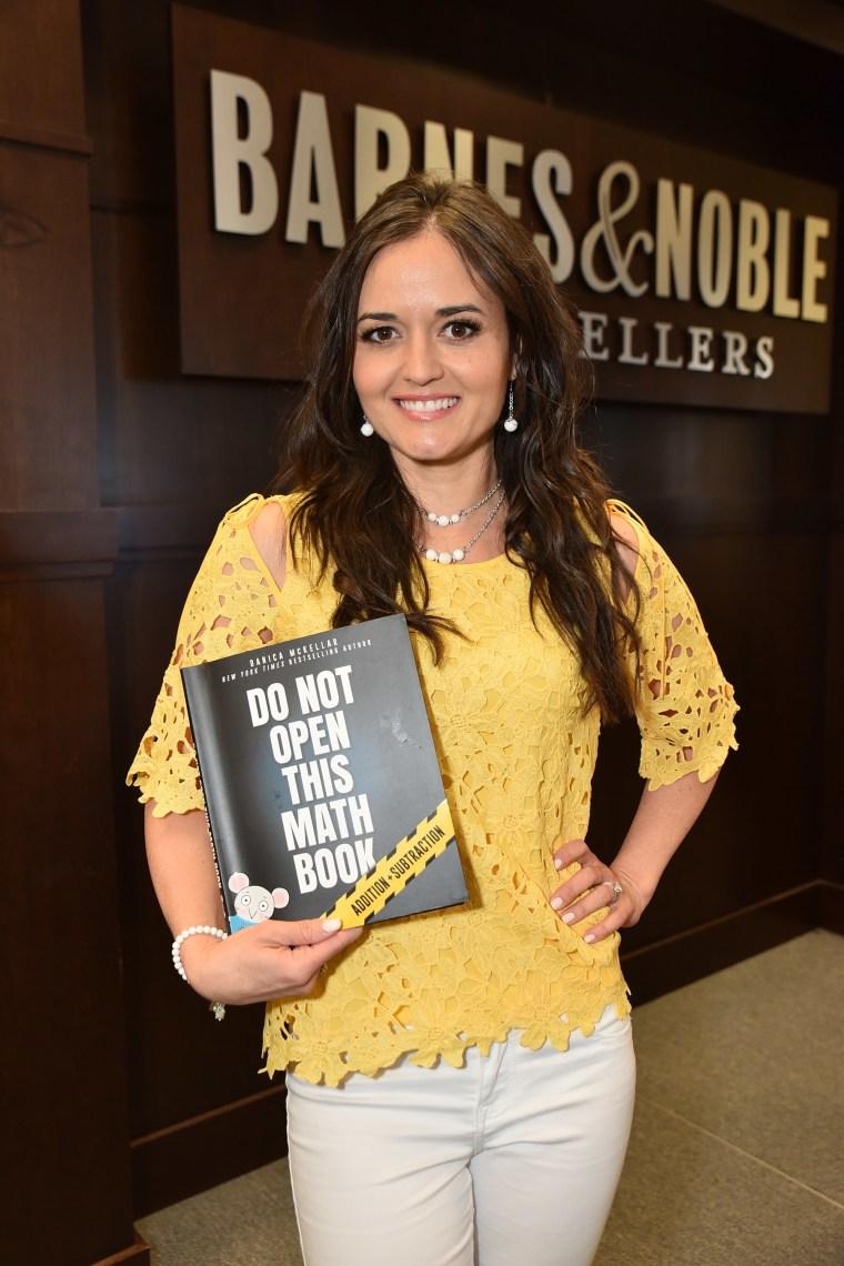 "Danica McKellar Celebrates Her New Book ""Don't Open This Math Book"""