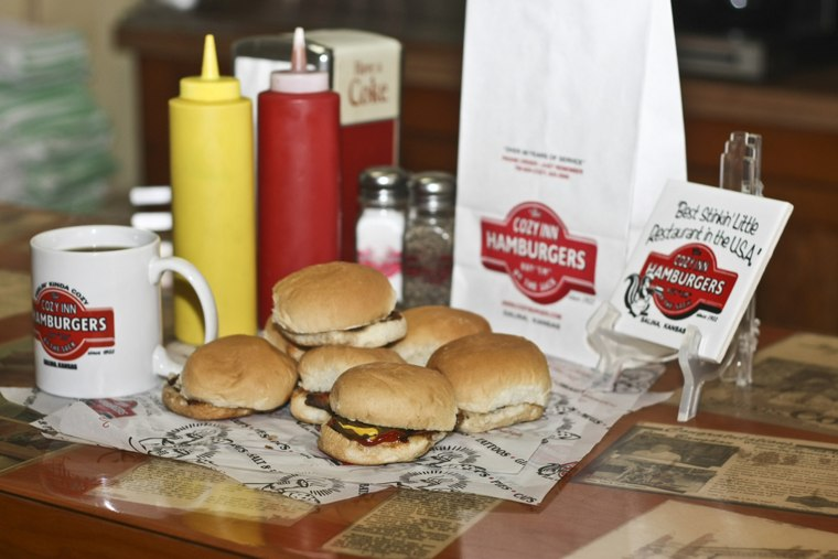Best Burgers in the U.S.: The Cozy Inn, Salina, Kansas
