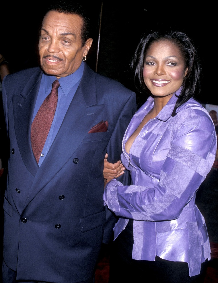 Janet Jackson, Joe Jackson