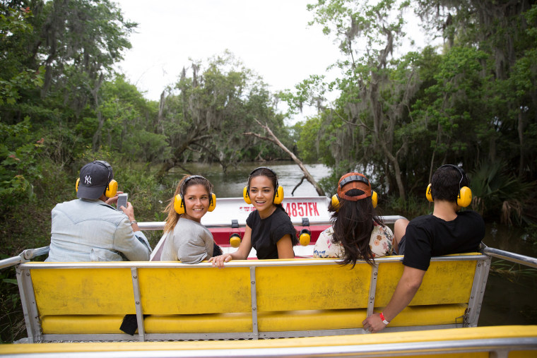 Swamp tour, New Orleans