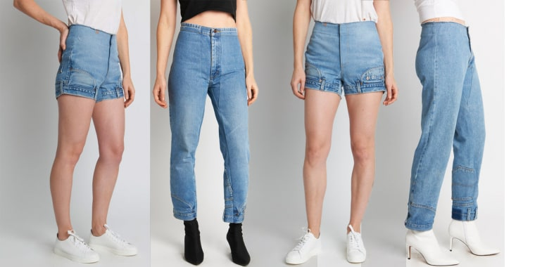 These upside down jeans have been raising a lot of questions.