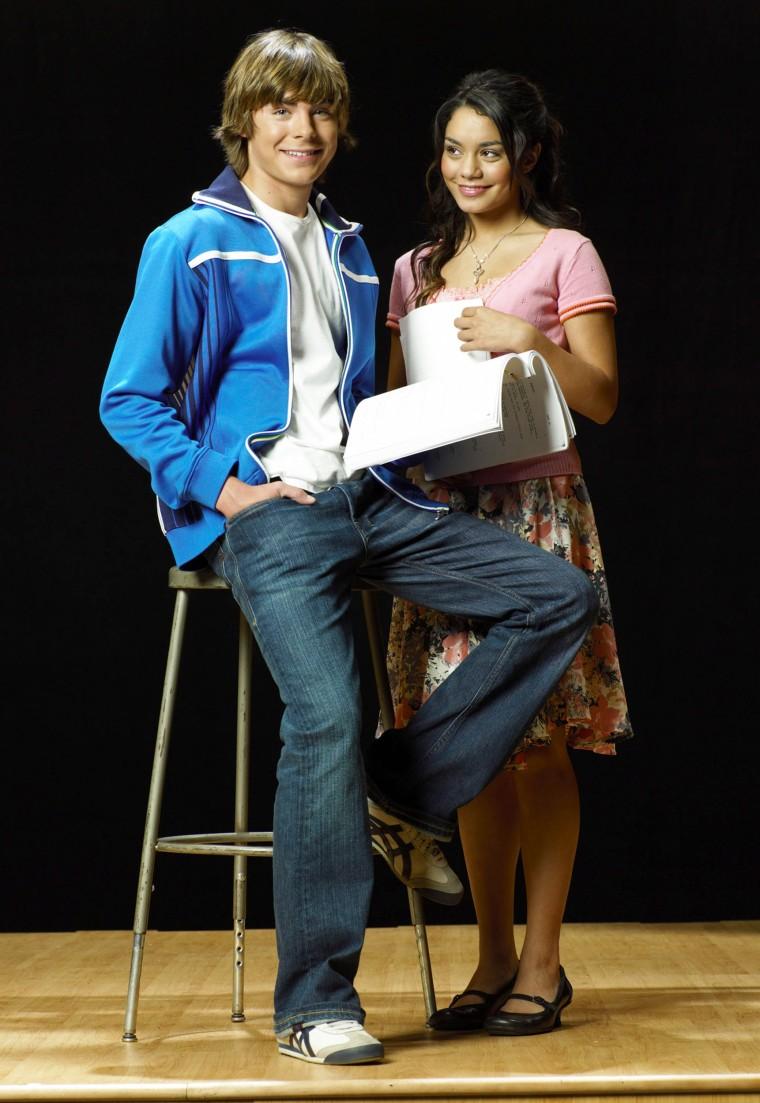 """Zac Efron and Vanessa Hudgens in """"High School Musical"""""""