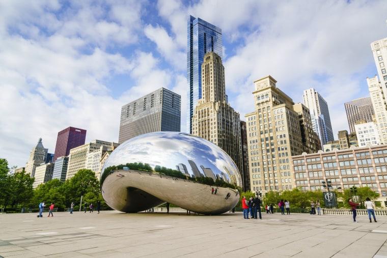 "Millennium Park, ""The Bean,"" Chicago, Illinois"