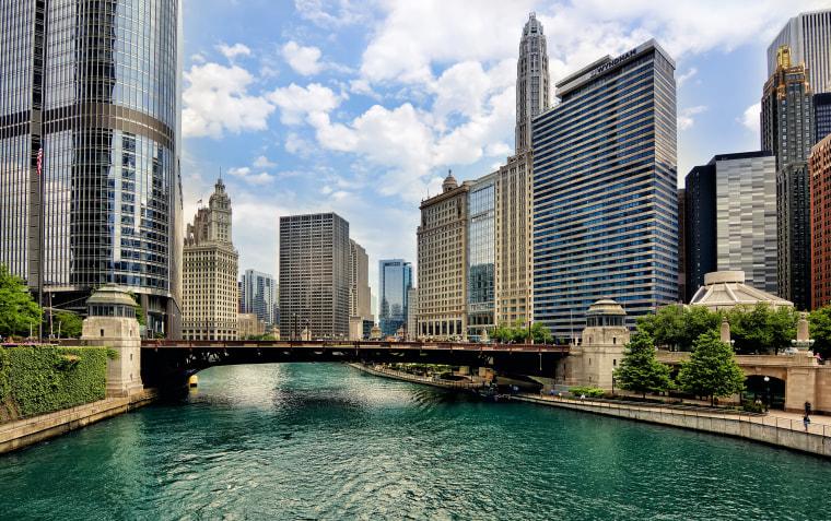 Chicago River, Chicago, Illinois