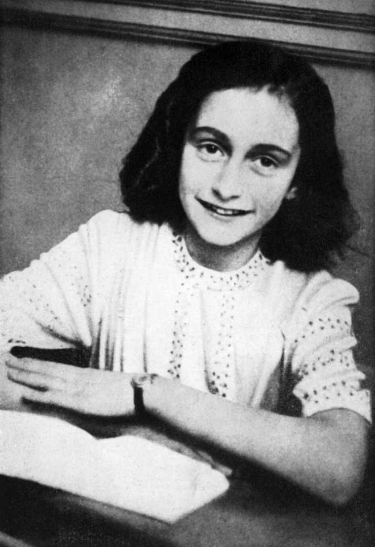 Image: FILES-NETHERLANDS-HOLOCAUST-GERMANY-POLITICS-HISTORY-ANNE FRANK-