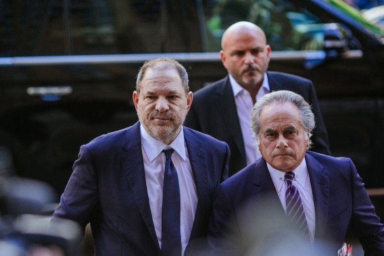Image: Harvey Weinstein, left, arrives at State Supreme Court with attorney Benjamin Brafman