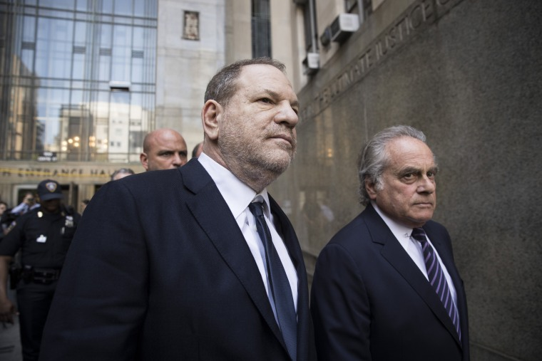 Image: Harvey Weinstein and attorney Benjamin Brafman exit State Supreme Court