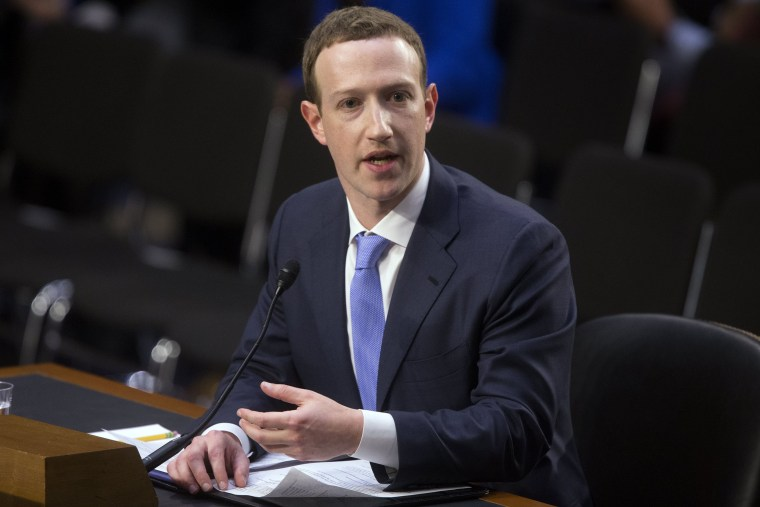 Image: CEO of Facebook Mark Zuckerberg
