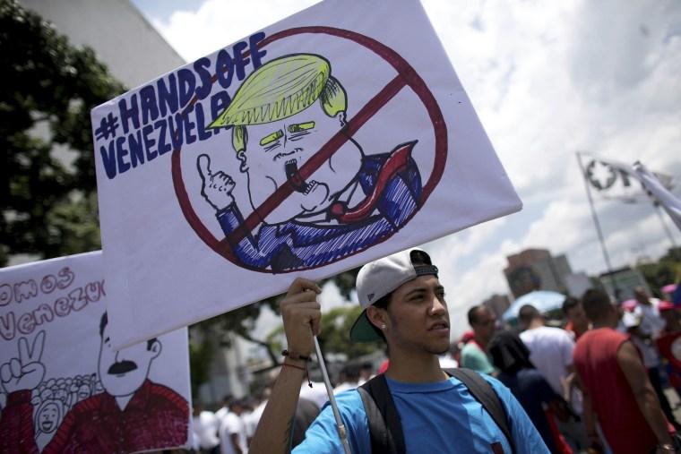 Venezuelan Scientist Offers Reality >> Trump Pressed Aides About Venezuela Invasion Official Tells Ap