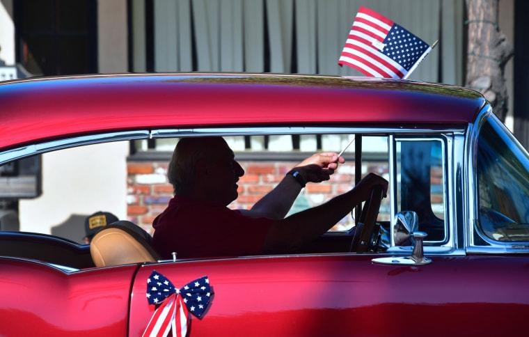 Image: Fourth of July celebrations San Gabriel, California