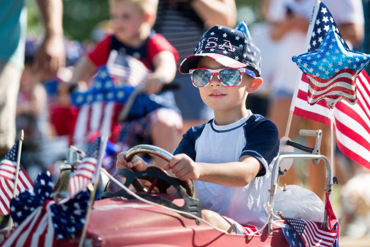 Image: Fourth of July celebrations Newberry, South Carolina