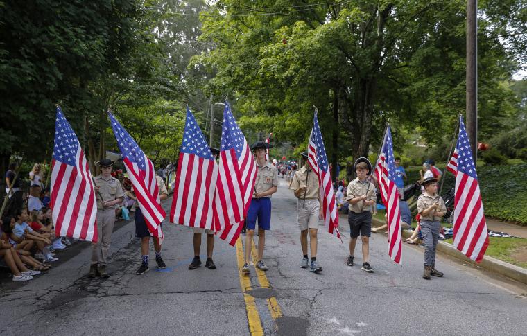 Image: Fourth of July celebrations Avondale Estates, Georgia