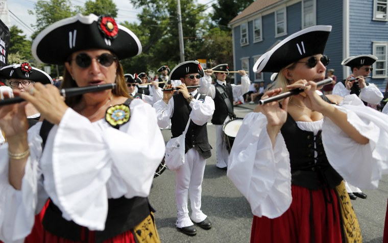 Image: Fourth of July celebrations Bristol, Rhode Island