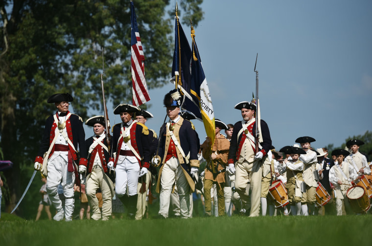 Image: Fourth of July celebrations Mount Vernon, Virginia