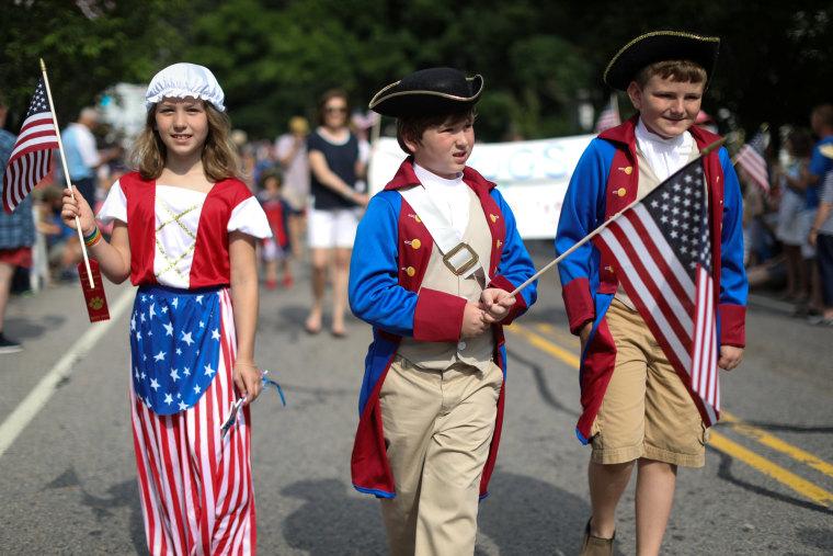 Image: Fourth of July celebrations Cape Cod, Massachusetts