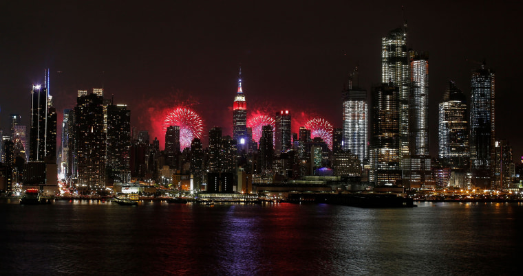 Image: Fireworks over Manhattan