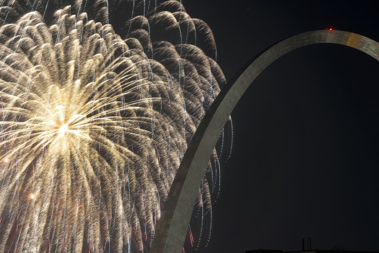 Image: Fireworks St Louis