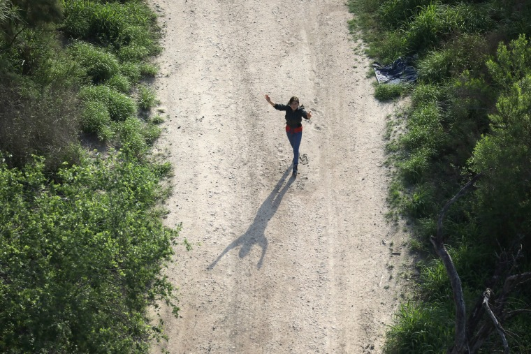 Image: Customs And Border Protection Patrols U.S. Border As Illegal Crossings Plummet