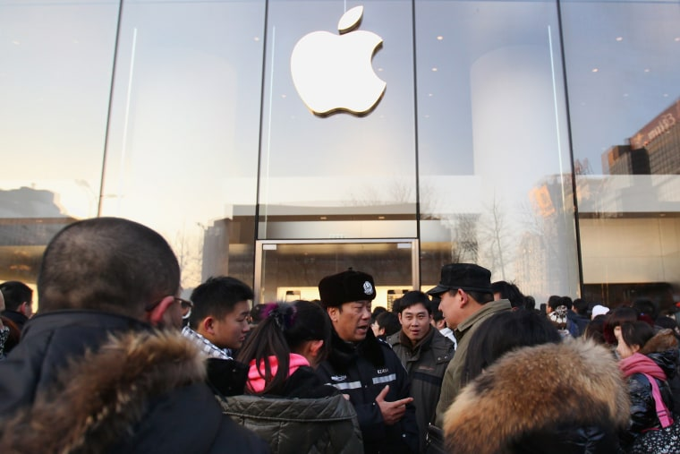 Image: Apple Inc's iPhone 4S Goes On Sale In Mainland China