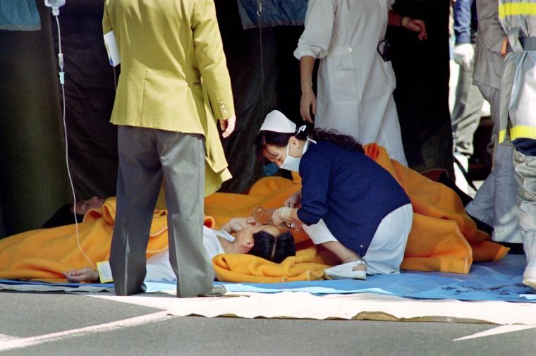 Image: Tokyo Sarin Gas Attack