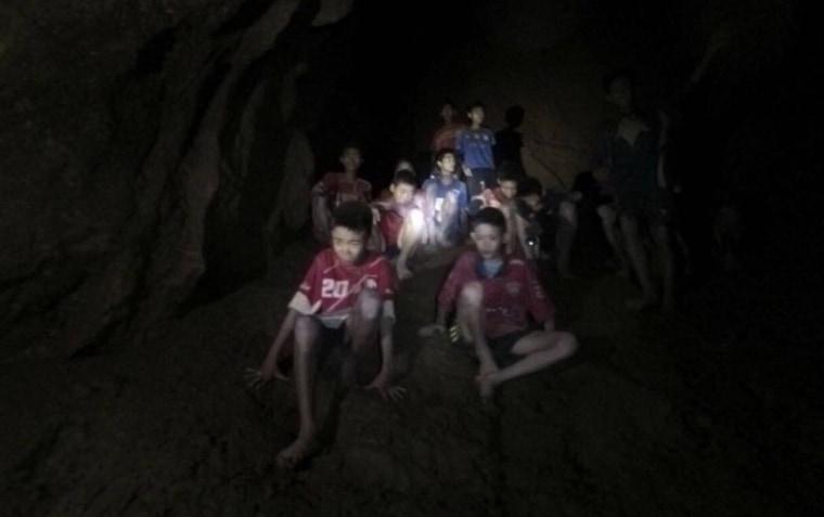 Image: Thailand Cave Rescue