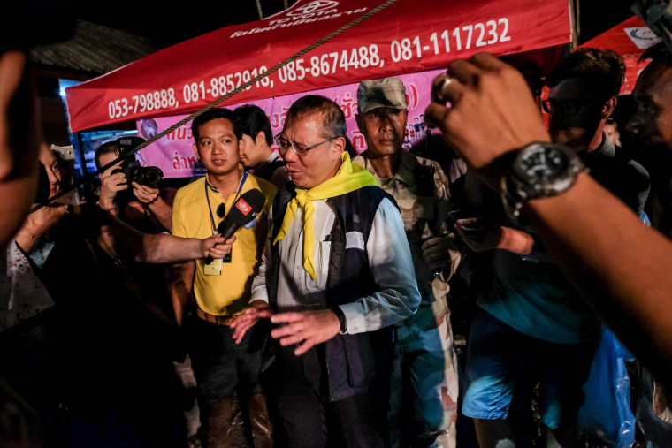 Image: Thailand Cave Rescue For Trapped Soccer Team