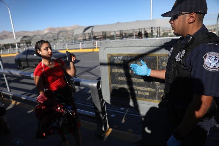 Image: U.S. and Mexico border